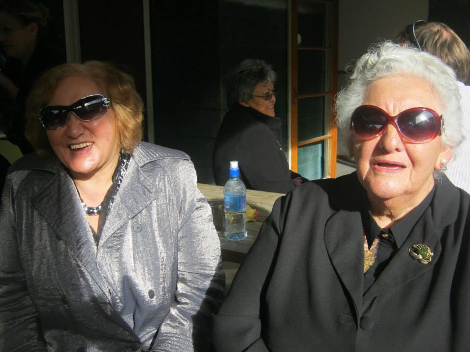 Ātaahua tāua Matariki Tumahai and Violet Bradley.