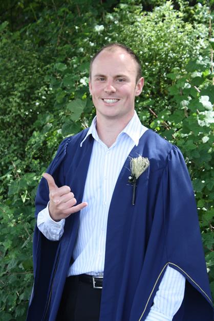 Adam Keane - following his nursing dreams.