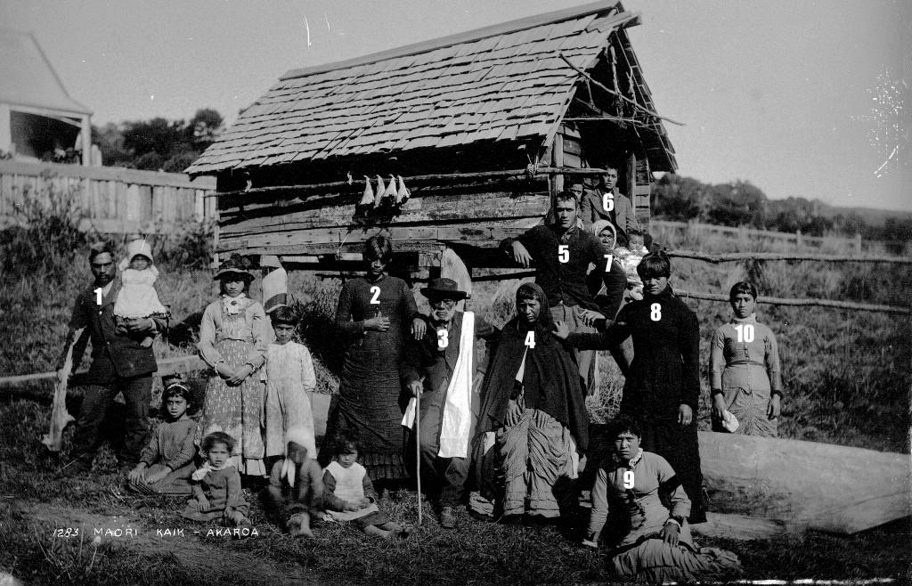The Akaroa Kāika, possible between 1880-1881.