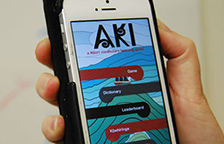 The new Aki app.