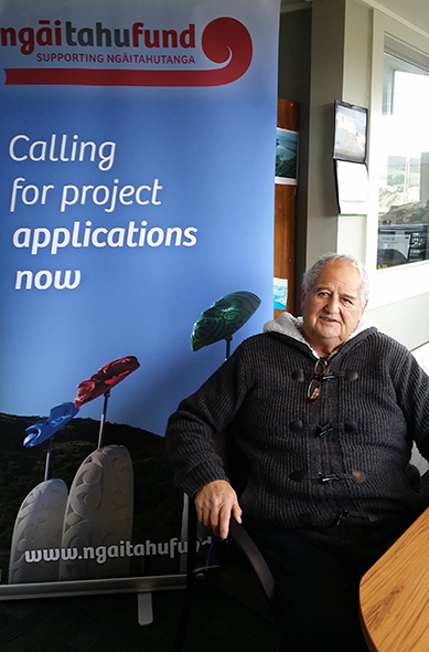 Alan Solomon making the most of the time with Ngāi Tahu Fund.
