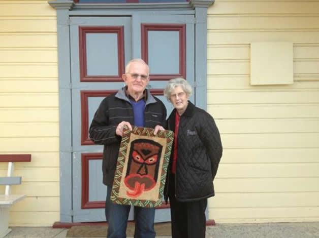 Allan and his wife Celeta.
