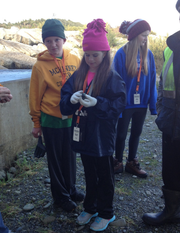 American students enjoy learning about the Arahura.