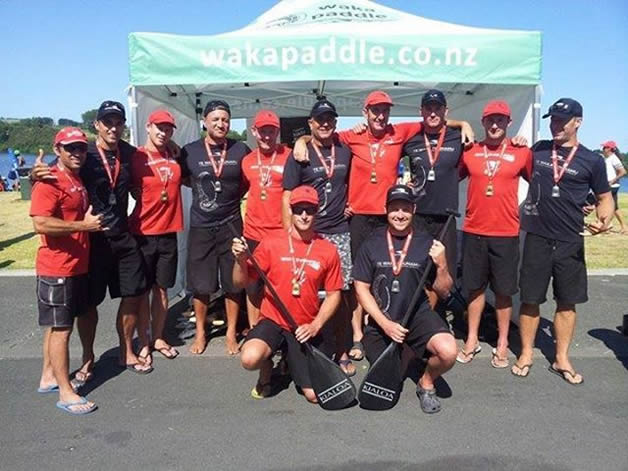 Aoraki Dogfish with their medals after a successful finals day for the Te Waka o Aoraki region.