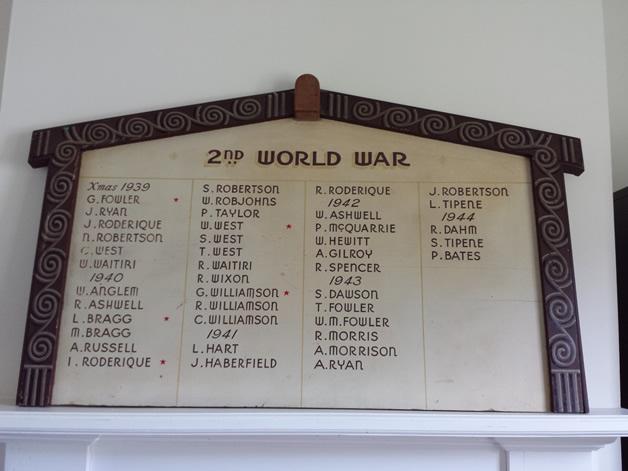 Awarua whānau killed in WWII.