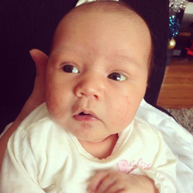 Baby Kaia.