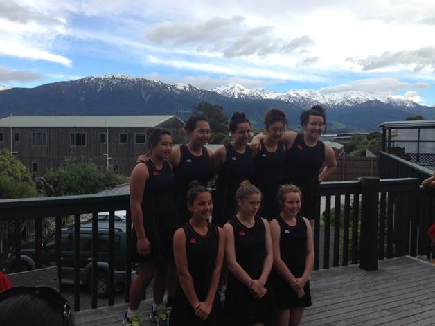 Kia Toa Juniors: Bridget Barlow, Maia Tonihi, Shiana Meihana, Whakataerangi White, Tayejana Coulston, Brooke Parker, Bianca Thomas, Elly Mulholland.