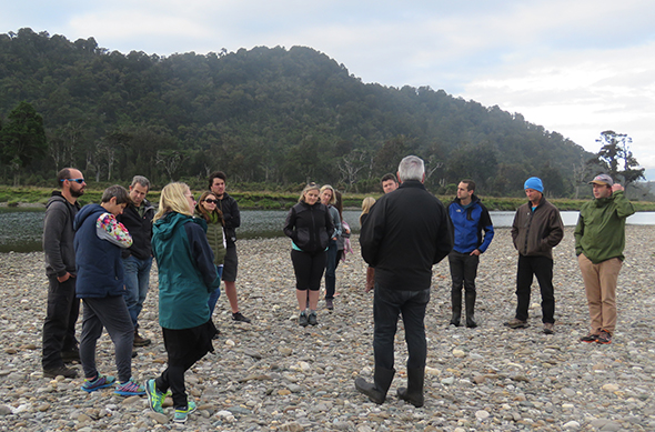 Chairman Paul Madgwick shares kōrero about Kāti Māhaki ki Makaawhio on our awa Makaawhio.