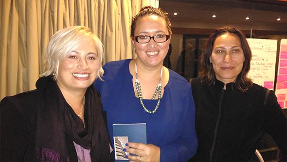 Cherie Semeri, Charisma Rangipunga and Maia Whiterod.