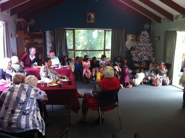 Christmas at the marae.