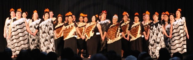 Competing for a place at Te Matatini.