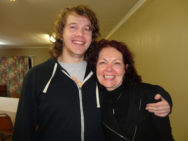 Duncan Coutts and Karen Coutts.