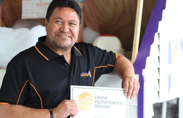 Emil Rahiti, Awarua Synergy Home Performance Advisor.