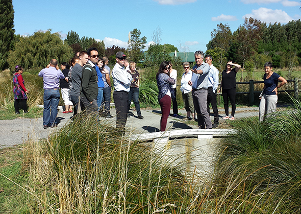 Environment Canterbury and Whakaora Te Waihora staff join Papatipu Rūnanga members for a science update around the lake. 2