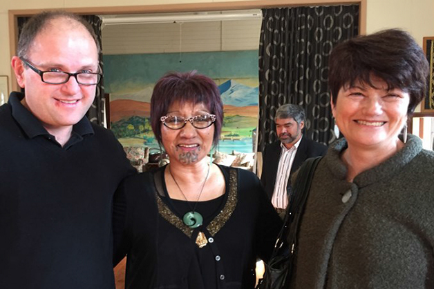 From left, Chris Ford, Suzy Waaka and Monica Davis.