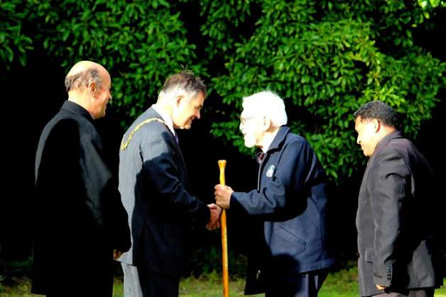 From left, Edward Ellison, Dave Cull, Ron Hudson and Hone Nuku-Tarawhiti.