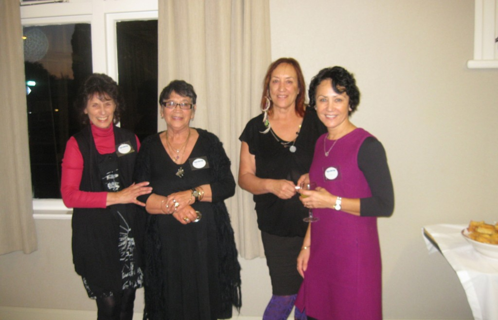 From left, Kay King, Tui Tau, Oriwia Rehu-Murchie and Dawn Potter.