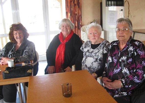 From left, Muriel Johnstone, Shona Fordyce, Jane Davis and Betty Rickus.