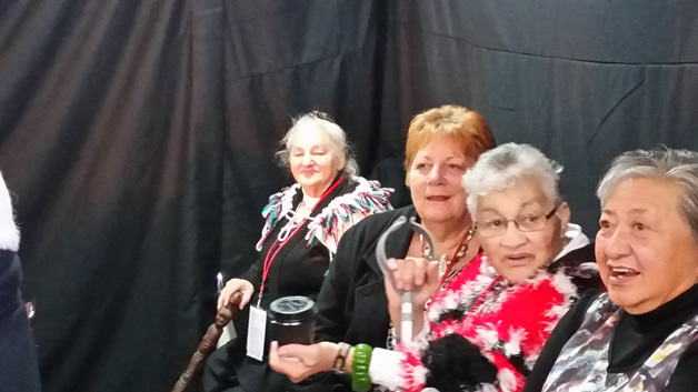 From left, Peggy Peek, Ailene Stehlin, Myra Clarke and Robyn Boulter.