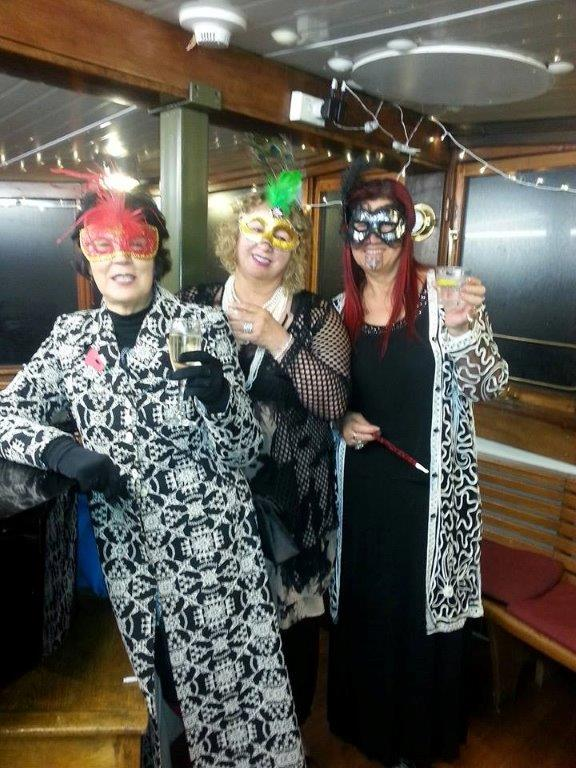 From left, Winsome Skerrett, Ora Barron and Marcia Te Au-Thompson.