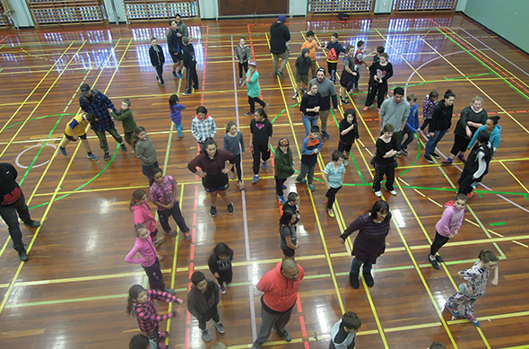 Games at the University of Otago School of Physical Education.