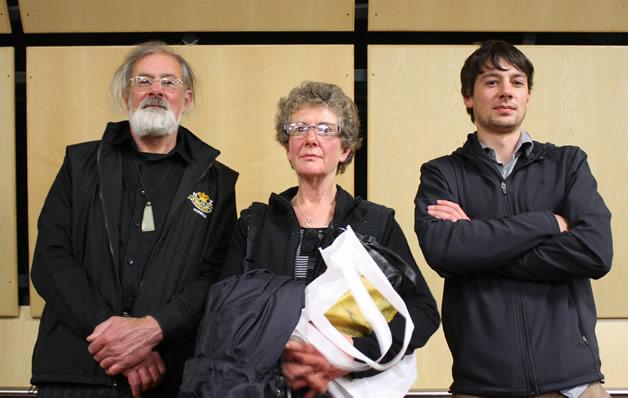 Graeme and Ruth Thomas with their son, David.
