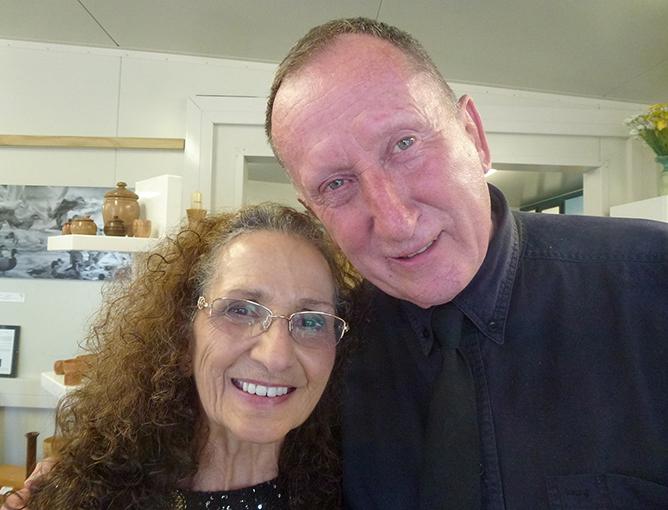 Hiria and Terry Ryan.
