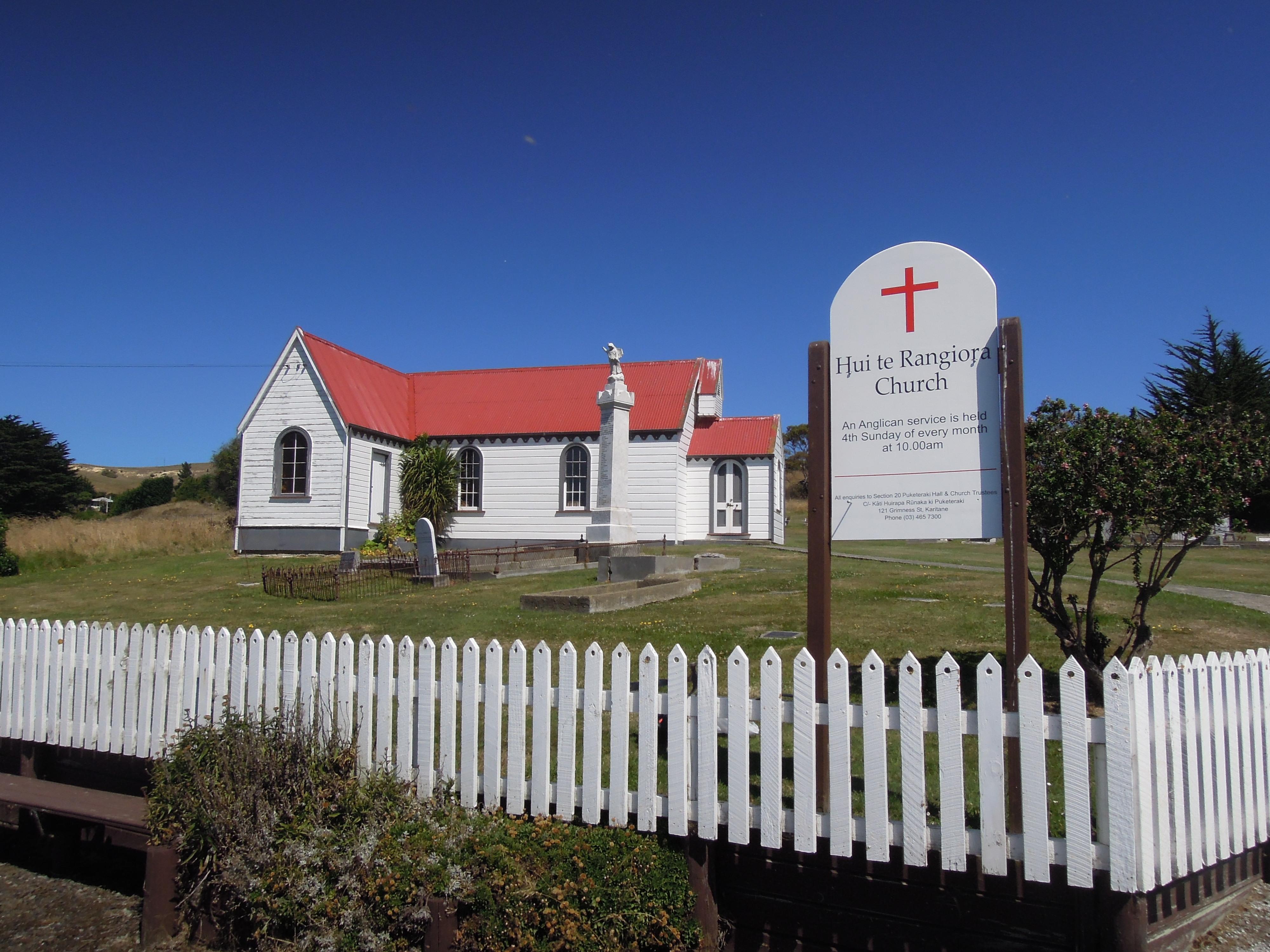 Hui te Rangiora Church.