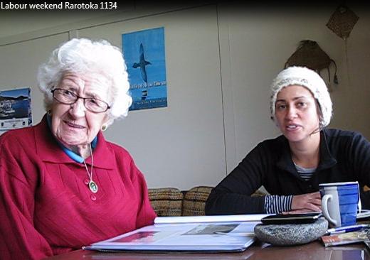 Irene being interviewed by Alisha Sherriff.