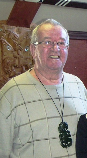 John Ellison at a bi-monthly hui of Ngai Tahu ki Tauranga Moana.