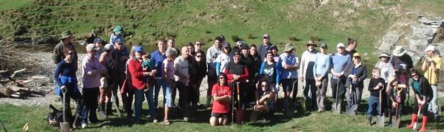 Ki Uta Ki Tai rōpū up on the north branch of the Waikouaiti River, Hikaroroa, East Otago.