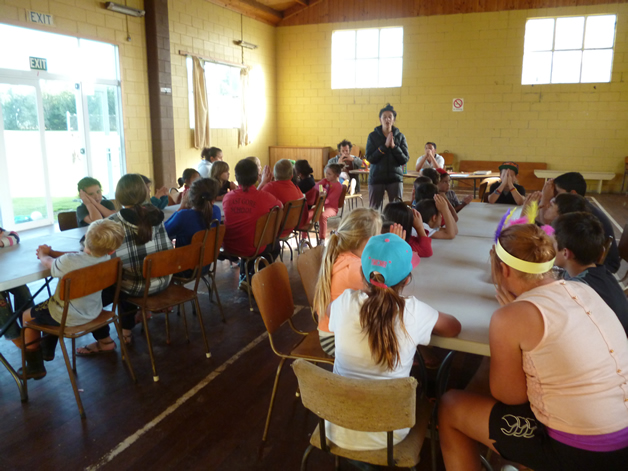 Kids of all ages enoyed a range of activities at our first meeting for the year.
