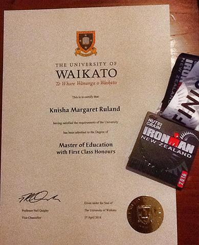 Knisha Ruland's achievements for 2016.