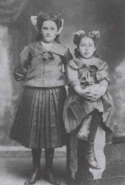 Lena with her cousin Wai Poko (Poro).