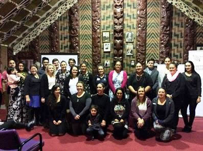 Many Ngāi Tahu whānau came to celebrate the successes of the six Ngāi Tahu students.