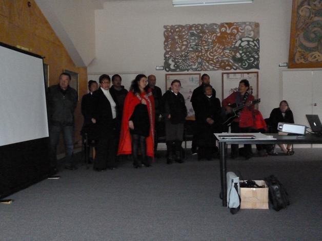 Mataura Marae executive komiti.