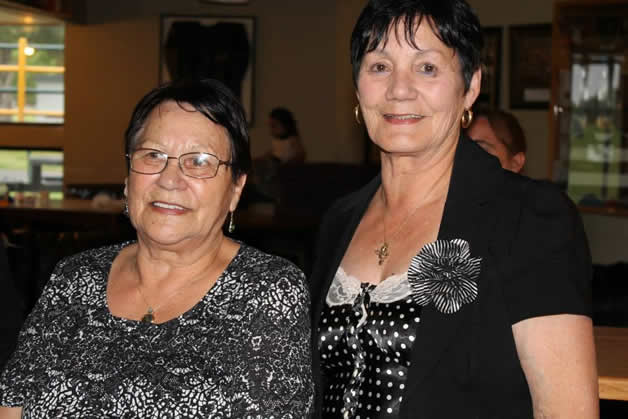 Maureen and Aunty Marg.