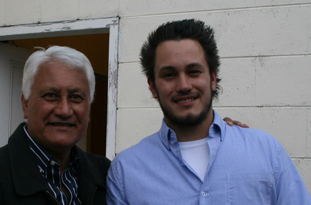 Nuk Korako and son Max.