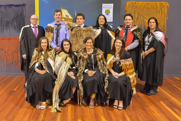Our Ngāi Tahu students on their special graduation day.