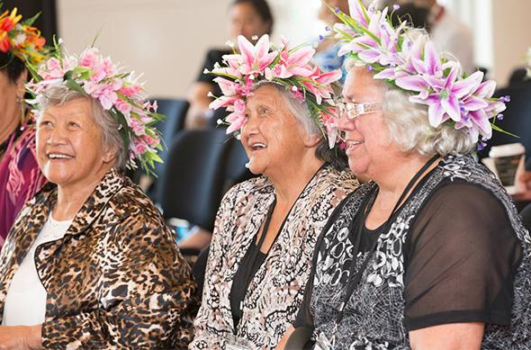 Our beautiful tāua at their hui.
