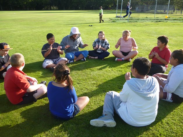 Our first youth group for the year was a great success.