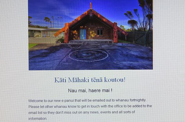 Our new e-pānui for whānau.