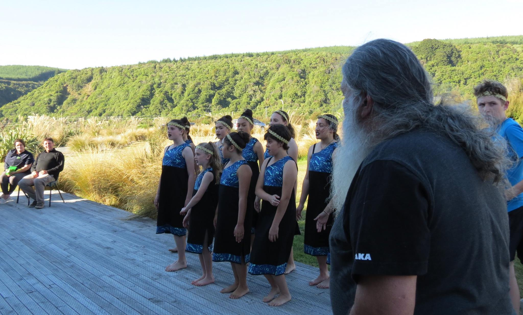 Our people our places. A stunning performance from our Ōraka Aparima tamariki, ably supported by Stewart Bull facilitating a welcome. Aroha ki te tangata. Ki Uta Ki Tai.