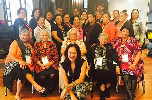 Our tāua with the Hui Fono whānau.