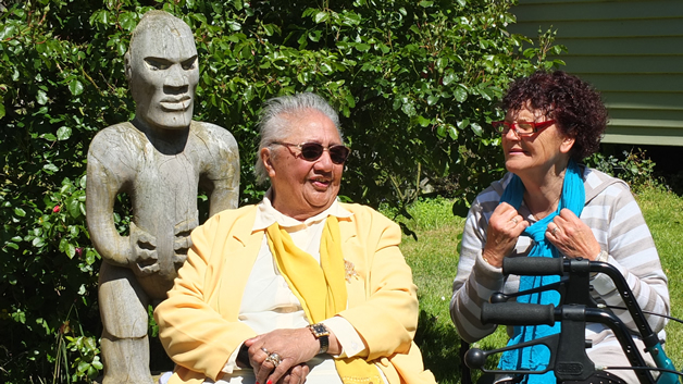 Patricia Anglem and Pani Ruwhiu.