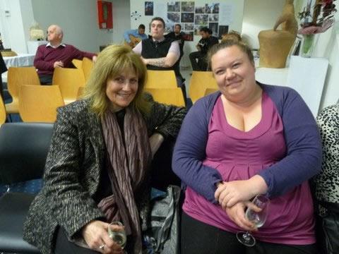 Patsy Davies and Maria Diamond.