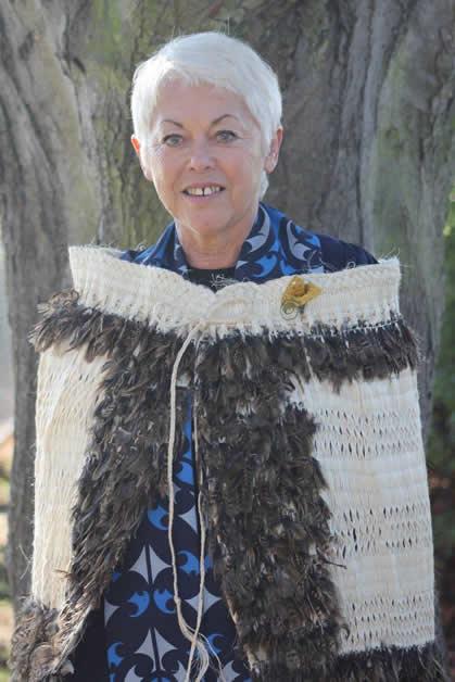 Patty-Ann graduating Te Toi Paematua.