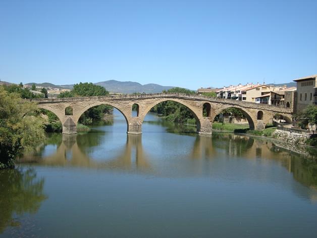 Puente la Reina Bridge.