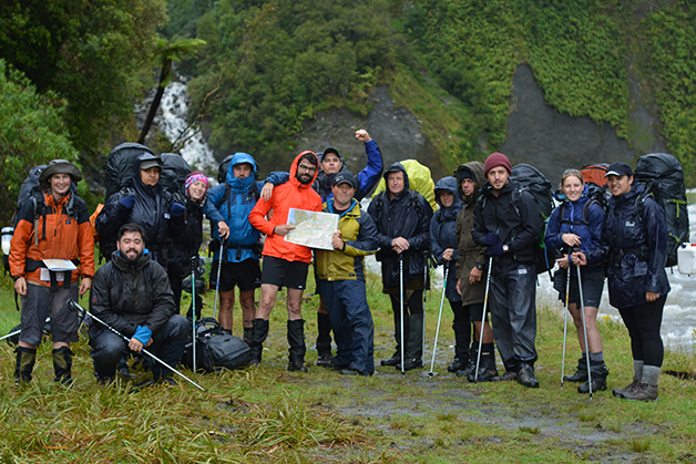Rainy Te Tai Poutini gets the better of us with the first river crossing un crossable.