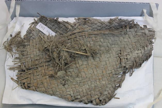 Raranga fragment from Roxburgh Gorge.